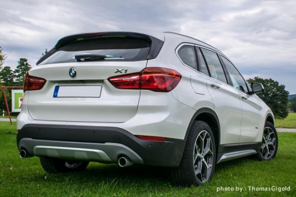 BMW「X1」のリア画像